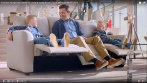Jason Saunders in TV Commercial for Furniture Village